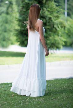 20% скидка на День матери  белое платье для женщин платье из