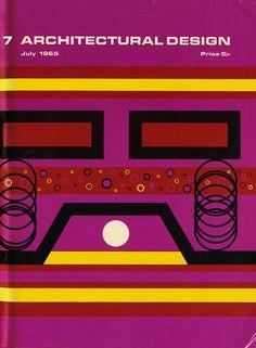 A Stockbridge. Architectural Design 35 July 1965: cover   RNDRD