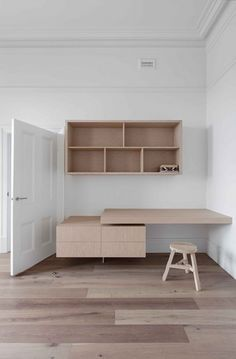 Beaconsfield Pde House | Clare Cousins Architects joinery storage bedroom