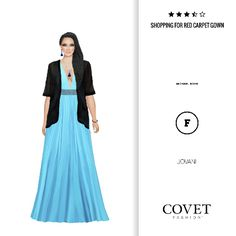 Covet Fashion v2 - Shopping for Red Carpet Gown 🛫3.91 (3.57 from votes)