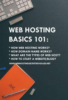 Learn how web hosting works. Here's a great guide that will help you understand how web hosting and websites work behind the scene. http://www.webhostingsecretrevealed.net/web-hosting-beginner-guide/?utm_source=twelveskip&utm_medium=link&utm_campaign=whsr