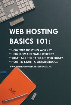 Learn how web hostin