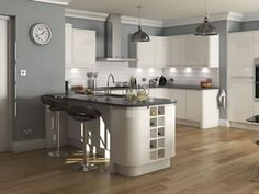 High Gloss Kitchens (L-Shaped) & Kitchen Units At Trade Prices - DIY Kitchens