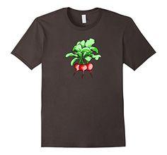 Mens Beet Root Vegetable T-Shirt 2XL Asphalt VeganTees