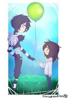 Balloon ? by EnImage <<Not a shipper, but still a cute fanart