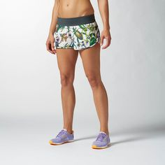 I love this Reebok Shorts for Crossfit. Woven and super comfortable.