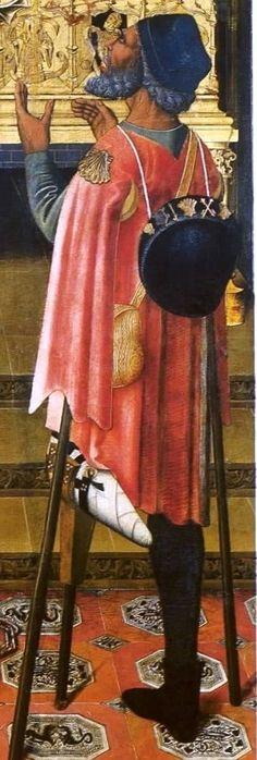 PELEGRI......... Vergós Studio, C hurch of Sant Augstí, Barcelona 1491-1500 - copia