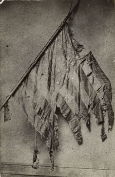 2nd Wisconsin Co F battle flag. Civil War.
