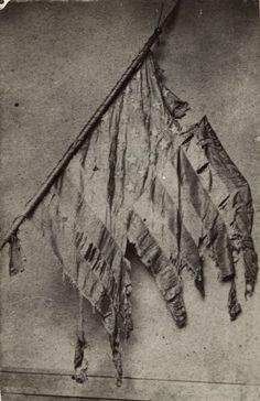 2nd Wisconsin Co F battle flag. Civil War.