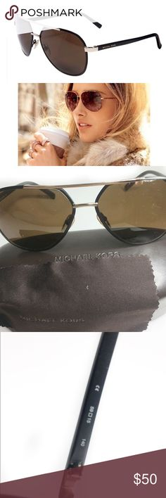 MICHAEL KORS TRISTAN AVIATORS Brand: MICHAEL KORS Model: M2474S TRISTAN Gender: Unisex  Frame Style: Aviator  100% authentic. Comes with cleaning cloth and case. ❌PRICE FIRM❌ ❌NO TRADES❌ Michael Kors Accessories Glasses
