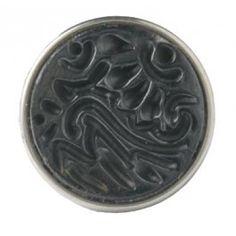 NOOSA Chunk Batik Stamp Black 005 | BIJ'TIJ