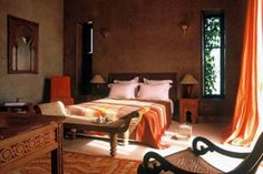 Awesome Spanish Interior Design Bedroom With Mediterranean Interior Design Bedroom Tuscan Style Bedrooms, Tuscan Bedroom, Earthy Bedroom, Moroccan Bedroom, Bedroom Furniture Design, Bedroom Decor, Design Bedroom, Bedroom Ideas, Bedding Decor