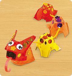 Chinese New Year Celebration from Lakeshore Learning: Celebrate Chinese New Year with this vibrant, easy-to-make dragon!