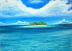 風景画「海風に誘われて」[MARIKO]   ART-Meter