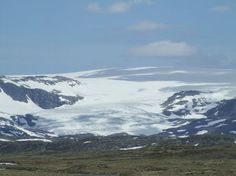 Hardanger Glacier  On the road from Geilo to  Bergen Norway