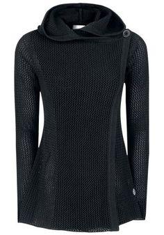 Hooded Knit Cardigan - Cardigan van R.E.D. by EMP