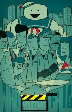 Movie Geek Art: Cult Classics GetCrammed - News - GeekTyrant