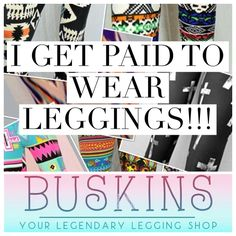 Buskin leggings To shop: http://www.mybuskins.com  choose crystal Harrison as your affiliate