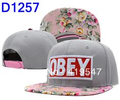 Obey snapback caps unisex caps hats snapback hat custom cap obey  floral hats fashion summer colorful snapbacks-in Baseball Caps from Appare...