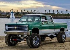 I seriously like just what these guys did with this customized Silverado Truck, Chevy 4x4, Chevy Pickup Trucks, Lifted Ford Trucks, Gm Trucks, Chevy Pickups, Chevrolet Trucks, Diesel Trucks, Chevrolet Silverado