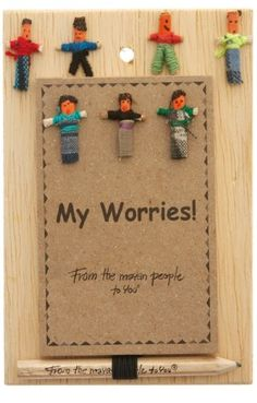 Worry Doll Notebook