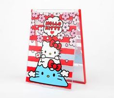 Hello Kitty Folding Mirror: Mt Fuji. A makeup mirror from a collection that combines two of my favorite things!