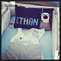 Cadeau de Naissance fait-main pour Ethan / Diy