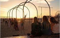 #santamonica #la #california #losangeles #ocean #beach #summer #avhaglund #sunset