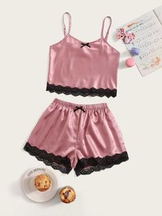 Cute Pajama Sets, Cute Pjs, Cute Pajamas, Kids Pajamas, Cute Lazy Outfits, Girl Outfits, Fashion Outfits, Gothic Fashion, Cute Sleepwear