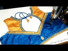easy  blouse designe cutting and stitching at home 2017 - YouTube