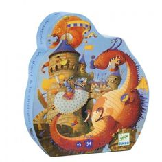 Djeco Puzzel Ridder en de Draak Speelgoed categorie: Speelgoed en spellen