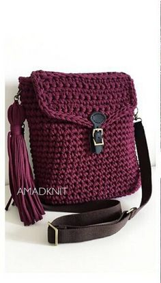 Best 12 Crochet pouch – Salvabrani – Page 564849978263647569 – SkillOfKing. Crochet Handbags, Crochet Purses, Crochet Pouch, Knit Crochet, Free Crochet, Crochet Shoulder Bags, Leather Bag Pattern, Macrame Bag, Knitted Bags
