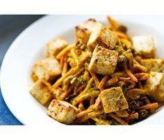 Easy Tahini Curried Carrot Salad ~ Is Yummy