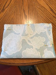 9. With right sides together, Fold in half and see together leaving an opening to turn it right side out.