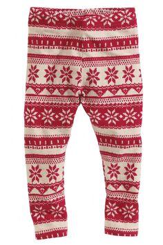 Buy Fairisle Pattern Leggings from the Next UK online shop Winter Leggings 65863cc9e