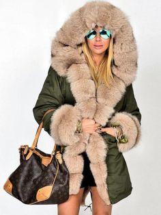 76fbba636cd4 40 Best fur hooded parka images