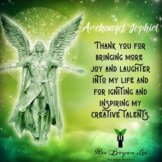Archangel Jophiel, Daily Yoga, Inspire Me, Laughter, Meant To Be, Angels, The Creator, How To Apply, Joy