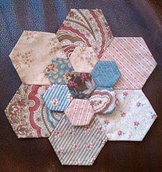 hexagons flower :)
