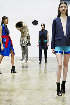 iSpy with my big eyes a Nick Cave piece in this Rad Hourani Couture Spring Summer 2015 Paris Presentation…and that is why I do what I do.
