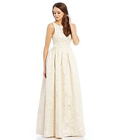 Adrianna Papell Tulle Rosette Gown #Dillards----FAVORITE ...