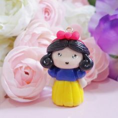 Snow white _ Disney Princess  Polymer Clay / Clay Project / Handmade Clay / Clay