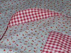 La casita de Rosa: Tutorial bolsa de costuras Pot Holders, Blog, Sewing, Ideas Para, Scrappy Quilts, Craft, Pink, Clothes Crafts, Fabric Purses