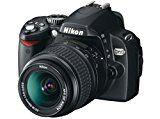 Nikon D60 SLR-Digitalkamera (10 Megapixel) Kit inkl. 18-55II 1:3,5-5,6G Objektiv
