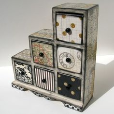 Shabby Chic Jewelry Box