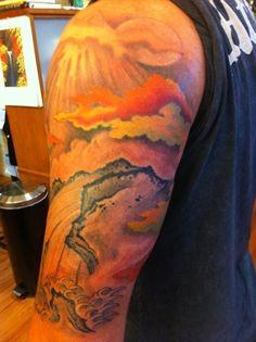 Tattoo Lion Simple Felicia R. Elbow Tattoos, Word Tattoos, Simple Tatto, Strawberry Tattoo, Text Tattoo, Wrist Tattoo, Graffiti Text, Western Tattoos, Skyline Tattoo
