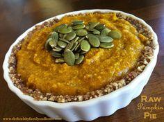 Raw-Pumpkin-Pie - grain free