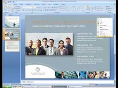Video Tutorial: Editing Templates in Microsoft Powerpoint