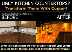 Copper Counter Tops | Copper Countertop