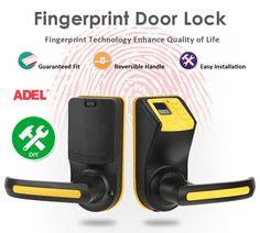 DIY Fingerprint Door Lock with Password and Mechanical Key