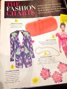 Double plunge Nicci garment featured in #GraziaSA magazine